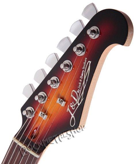 gitara elektryczna J&D BROTHERS sunburst ST3A SB
