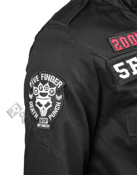 kurtka FIVE FINGER DEATH PUNCH -  EAGLE SEAL MILITARY JACKET