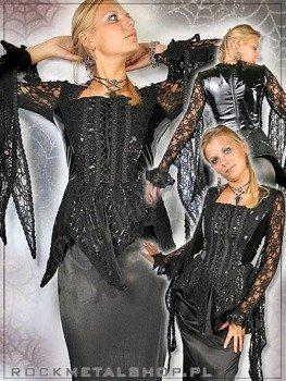 bluzka czarna LASH TOP PVC  (A-4-30-010-10)