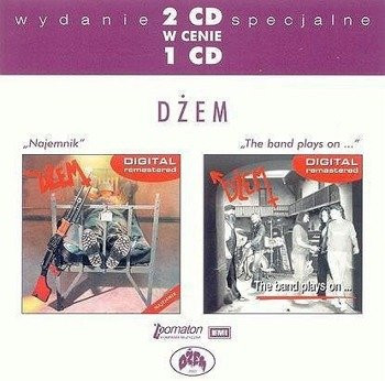 DZEM: NAJEMNIK/THE BAND PLAYS ON (CD)