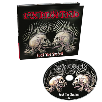 EXPLOITED: FUCK THE SYSTEM (CD) SPECIAL