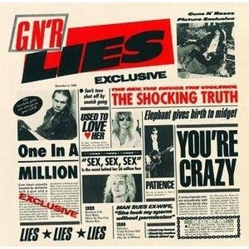 GUNS N' ROSES: G N' R LIES (CD)