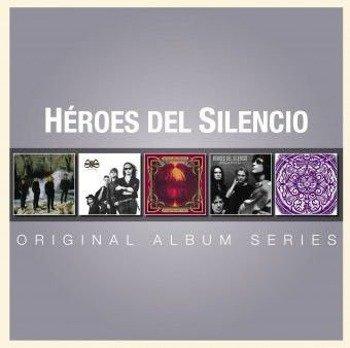 HEROES DEL SILENCIO: ORIGINAL ALBUM SERIES (5CD)