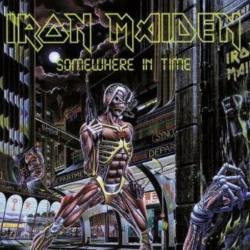 IRON MAIDEN: SOMEWHERE IN TIME (LP VINYL)