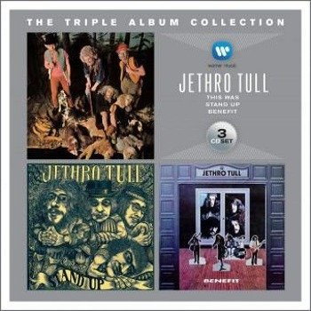 JETHRO TULL: TRIPLE ALBUM COLLECTION (3CD)