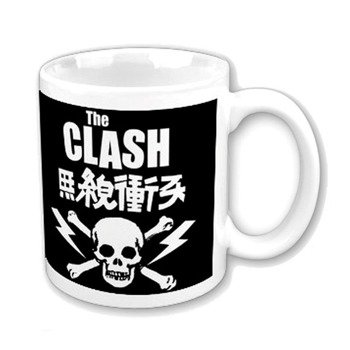 Kubek THE CLASH - SKULL