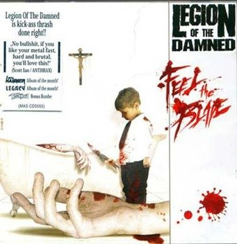 LEGION OF THE DAMNED: FEEL THE BLADE (CD)
