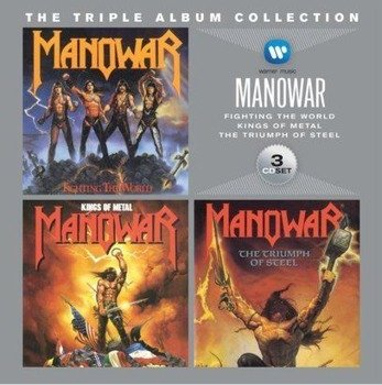 MANOWAR: THE TRIPLE ALBUM COLLECTION (3CD)