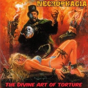 NECROPHAGIA: THE DIVINE ART OF TORTURE (CD)