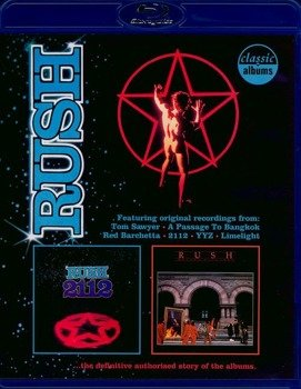 RUSH: 2112 /MOVING PICTURES (BLU-RAY)