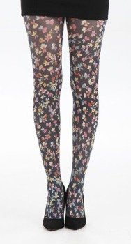Rajstopy Small Ditsy Floral - Multicoloured