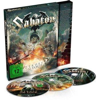 SABATON: HEROES ON TOUR (2DVD+CD DIGI)