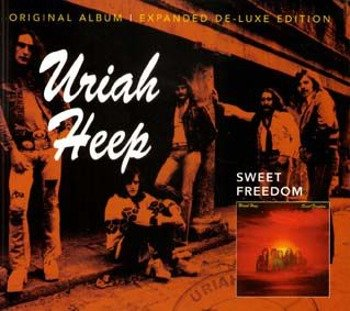 URIAH HEEP: SWEET FREEDOM (CD) REMASTER