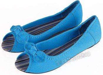 balerinki NEW AGE - BLUE (OX-01)