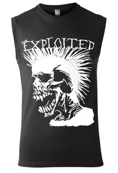 bezrękawnik THE EXPLOITED - PUNK SKULL