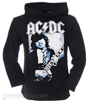 bluza AC/DC - ANGUS czarna, z kapturem