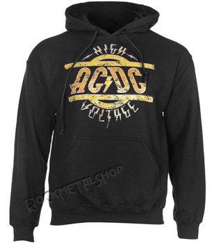 bluza AC/DC - HIGH VOLTAGE, kangurka z kapturem