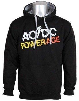 bluza AC/DC - POWERAGE , kangurka z kapturem