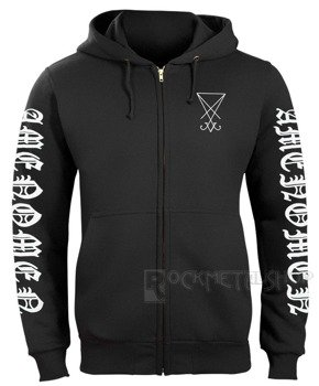 bluza AMENOMEN - BAD WOLF rozpinana, z kapturem (OMEN015CR)