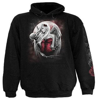 bluza ANGEL OF DEATH czarna, z kapturem