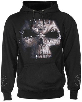 bluza DEAD BEAT czarna, z kapturem (TR253800)