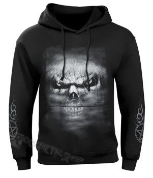 bluza DEATH ROCK czarna, z kapturem