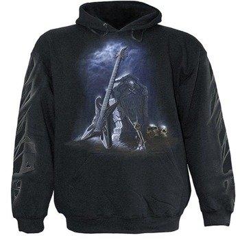 bluza GRAVEYARD ROCK czarna, z kapturem