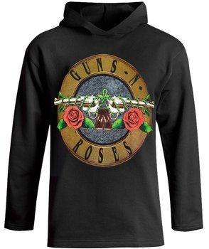 bluza GUNS N ROSES, czarna z kapturem