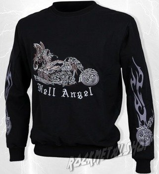 bluza HELL ANGEL bez kaptura