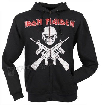 bluza IRON MAIDEN - A MATTER OF LIFE DEATH, rozpinana z kapturem
