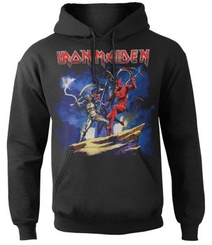 bluza IRON MAIDEN - LEGACY BEAST FIGHT, kangurka z kapturem