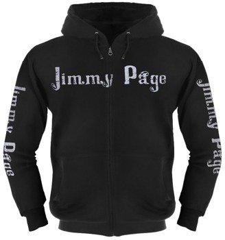 bluza JIMMY PAGE - ZOSO rozpinana, z kapturem
