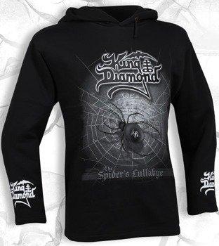 bluza KING DIAMOND - THE SPIDER'S LULLABYE czarna, z kapturem