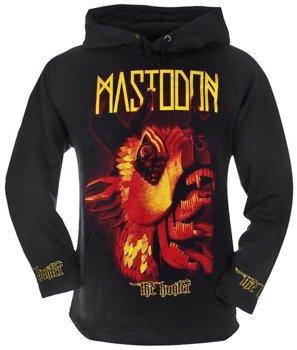 bluza MASTODON - THE HUNTER czarna, z kapturem