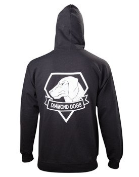 bluza METAL GEAR SOLID V - DIAMOND DOGS, rozpinana z kapturem