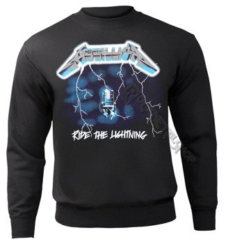 bluza METALLICA - RIDE THE LIGHTNING, bez kaptura