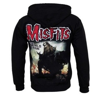 bluza MISFITS - THE DEVIL'S RAIN, rozpinana z kapturem