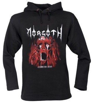 bluza MORGOTH - RESURRECTION ABSURD czarna, z kapturem