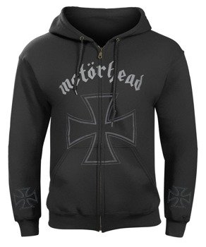 bluza MOTORHEAD - EVERYTHING LOUDER THAN EVERYTHING ELSE rozpinana, z kapturem