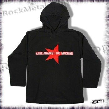 bluza RAGE AGAINST THE MACHNE, czarna z kapturem