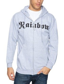 bluza RAINBOW - LONG LIVE ROCK & ROLL, rozpinana z kapturem