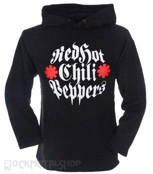 bluza RED HOT CHILI PEPPERS czarna, z kapturem