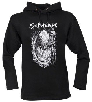 bluza SIX FEET UNDER czarna, z kapturem