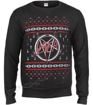 bluza SLAYER - PENTAGRAM HOLIDAY, bez kaptura