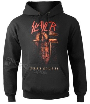 bluza SLAYER - REPENTLESS CRUCIFIX czarna, z kapturem