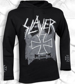 bluza SLAYER - STILL REIGNING czarna, z kapturem