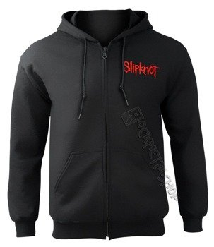 bluza SLIPKNOT - SKULL TEETH ,rozpinana z kapturem