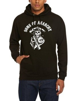 bluza SONS OF ANARCHY - CLASSIC, kangurka z kapturem