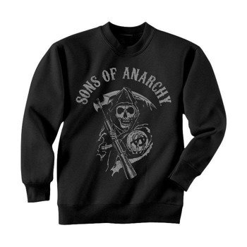 bluza SONS OF ANARCHY - REAPER LOGO, bez kaptura