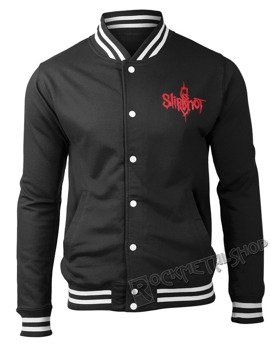 bluza/kurtka SLIPKNOT - LOGO & 9 POINT STAR rozpinana